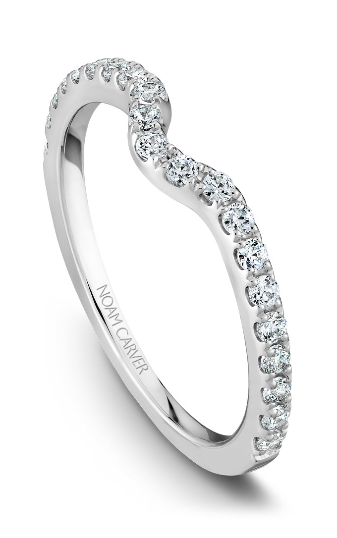 Noam Carver Wedding Bands B002-01B product image
