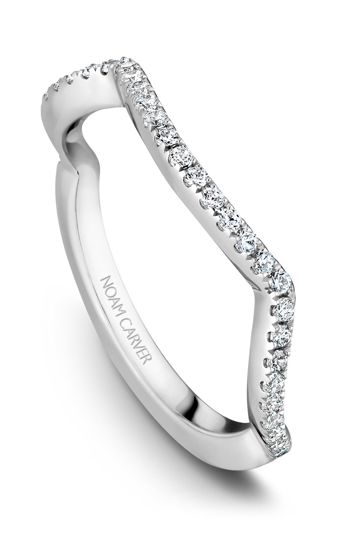 Noam Carver Wedding Bands B004-03B product image