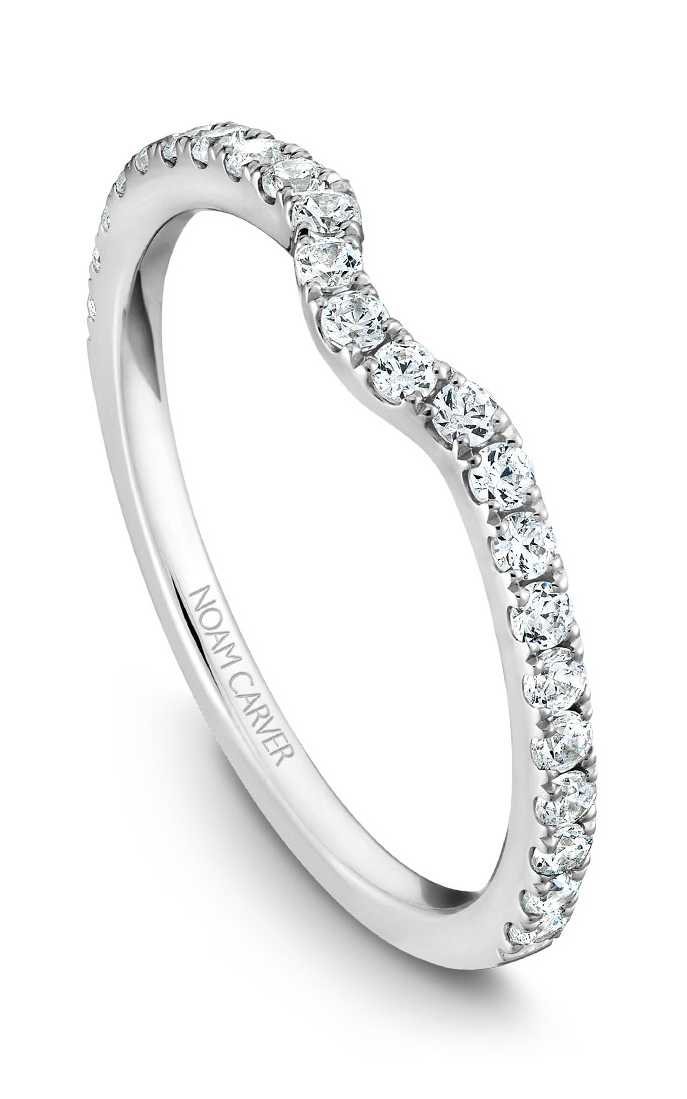 Noam Carver Wedding Bands B007-01B product image