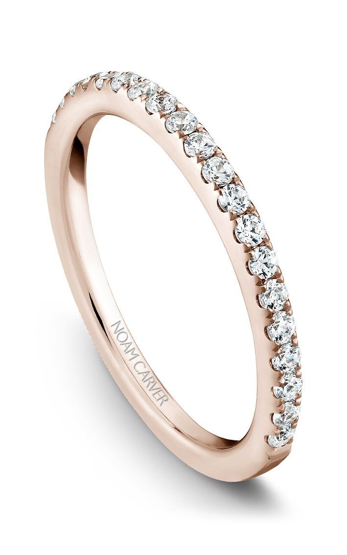 Noam Carver Wedding Bands B017-01RB product image