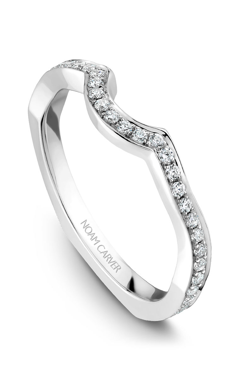Noam Carver Wedding Bands B020-01B product image