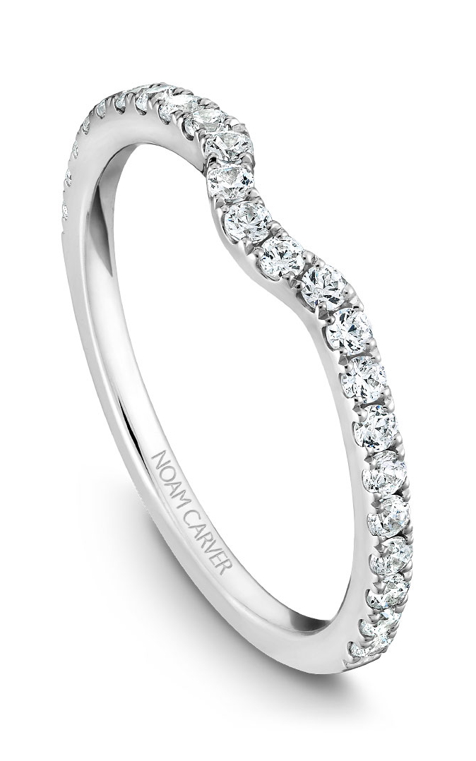 Noam Carver Wedding Bands B022-01B product image