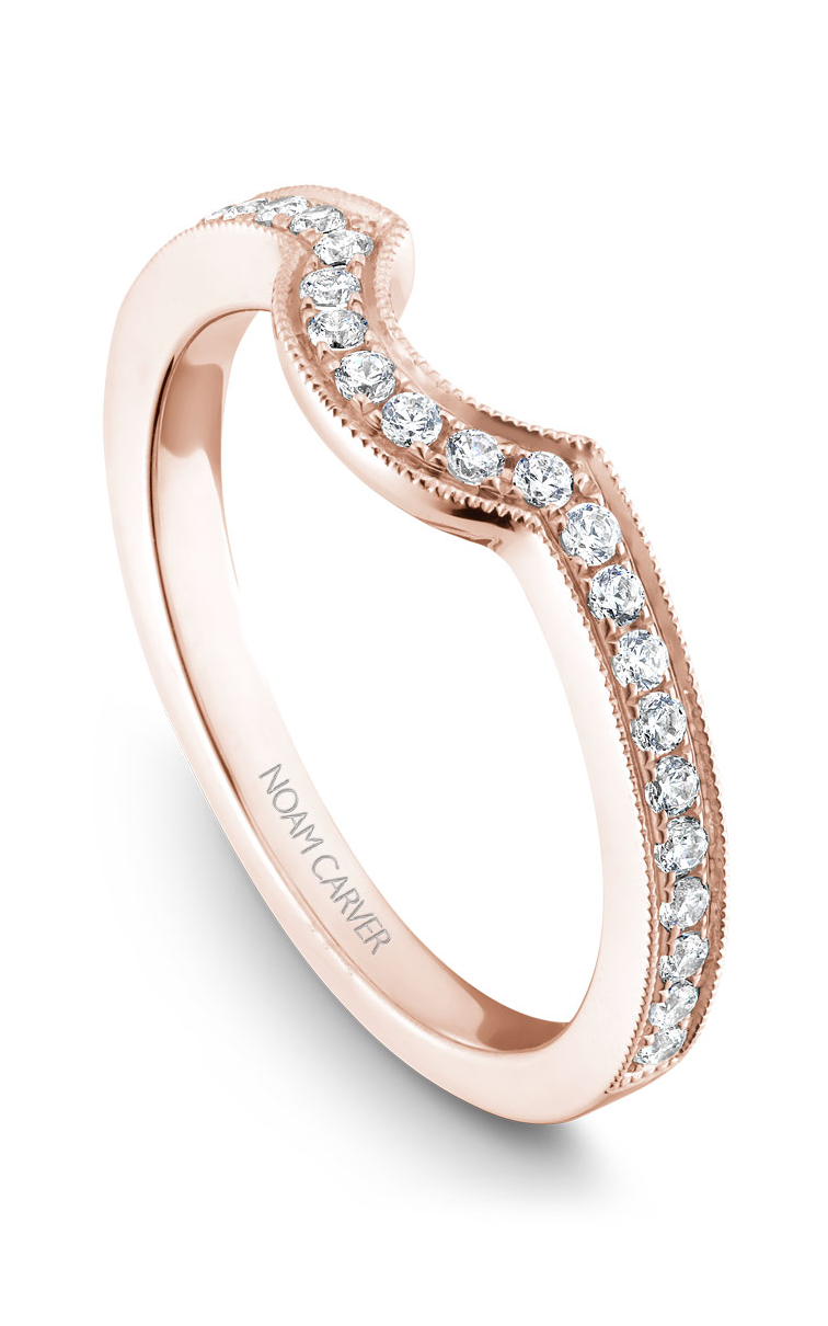Noam Carver Wedding Bands B025-02RB product image