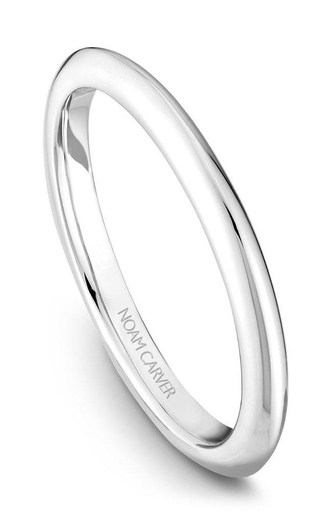Noam Carver Wedding Bands B027-01B product image