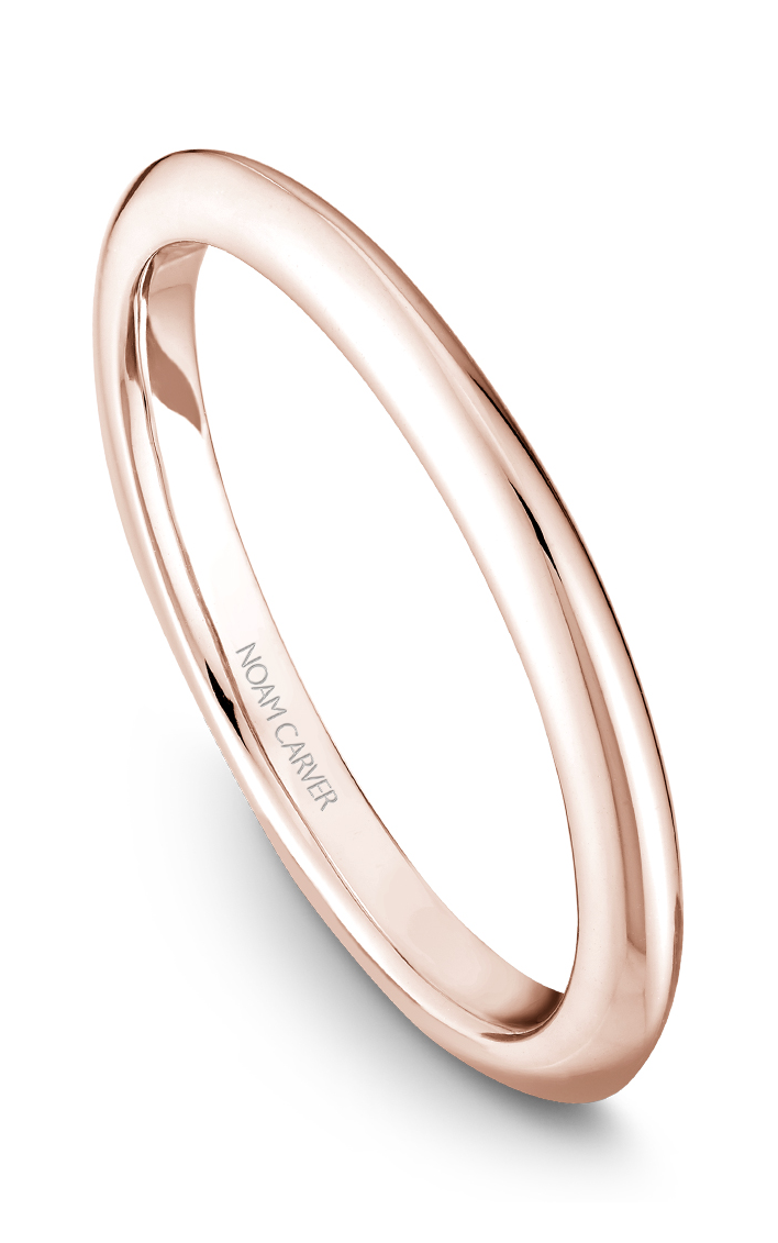 Noam Carver Wedding Bands B027-03RB product image