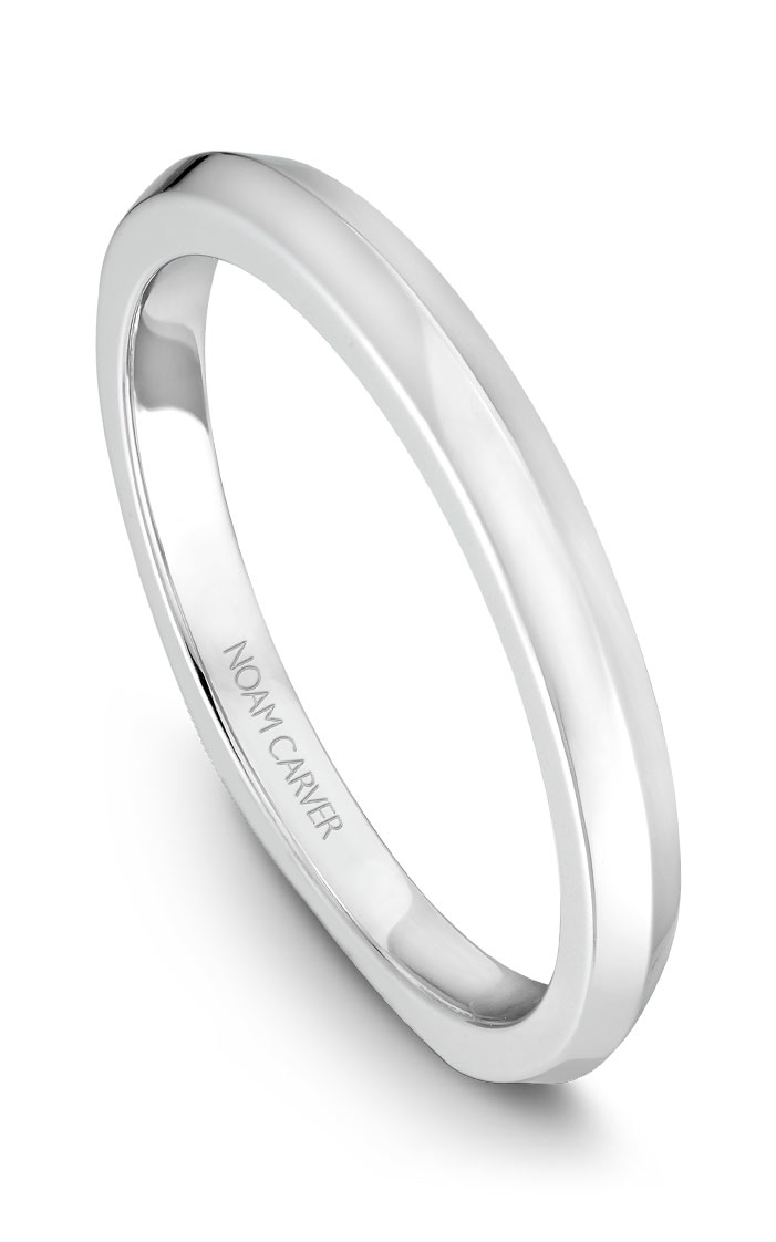 Noam Carver Wedding Bands B040-01B product image