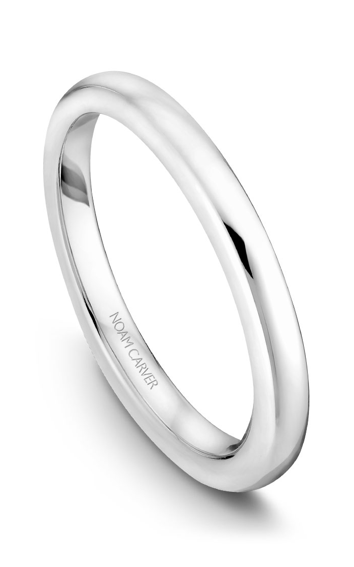 Noam Carver Wedding Bands B042-01B product image