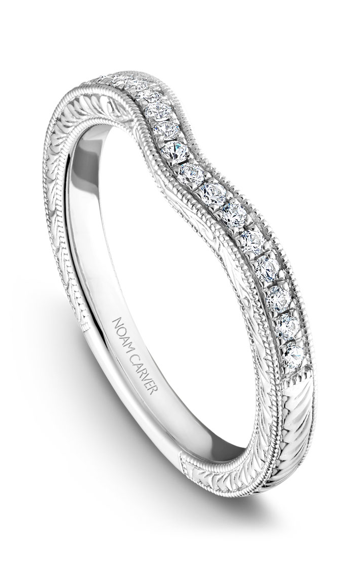 Noam Carver Wedding Bands B050-01B product image