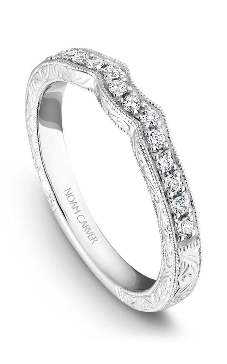 Noam Carver Wedding Bands B052-01B product image