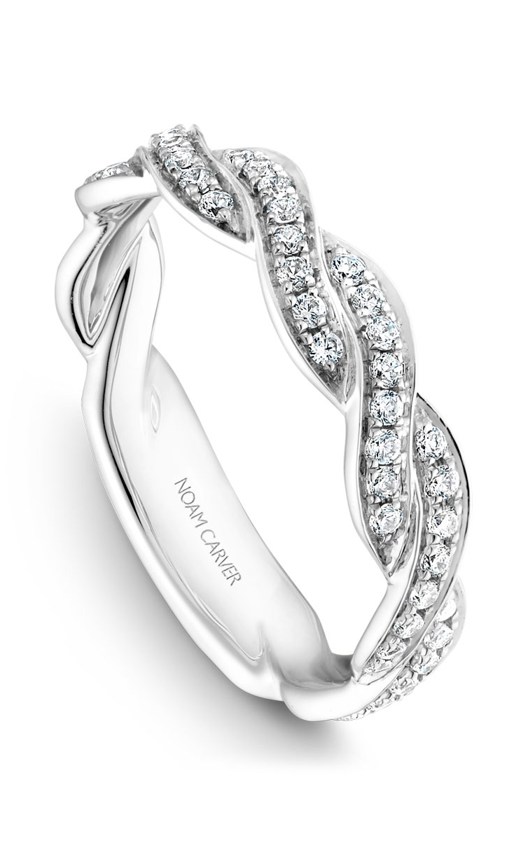 Noam Carver Wedding Bands B059-01B product image