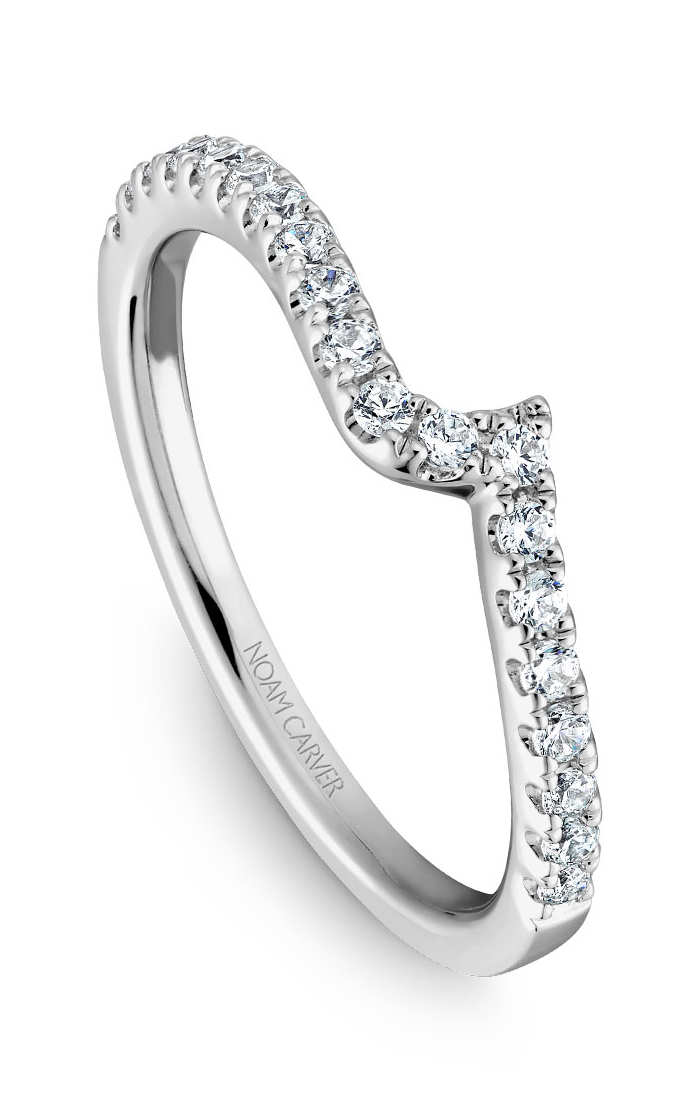 Noam Carver Wedding Band B089-01B product image