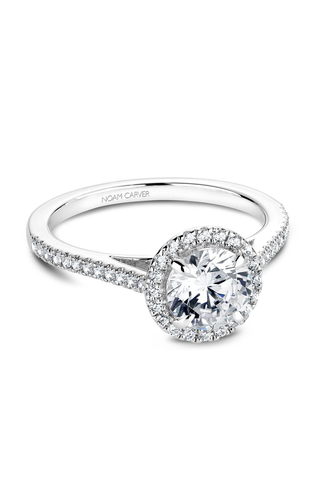 Noam Carver Modern Engagement Ring B094-02A product image