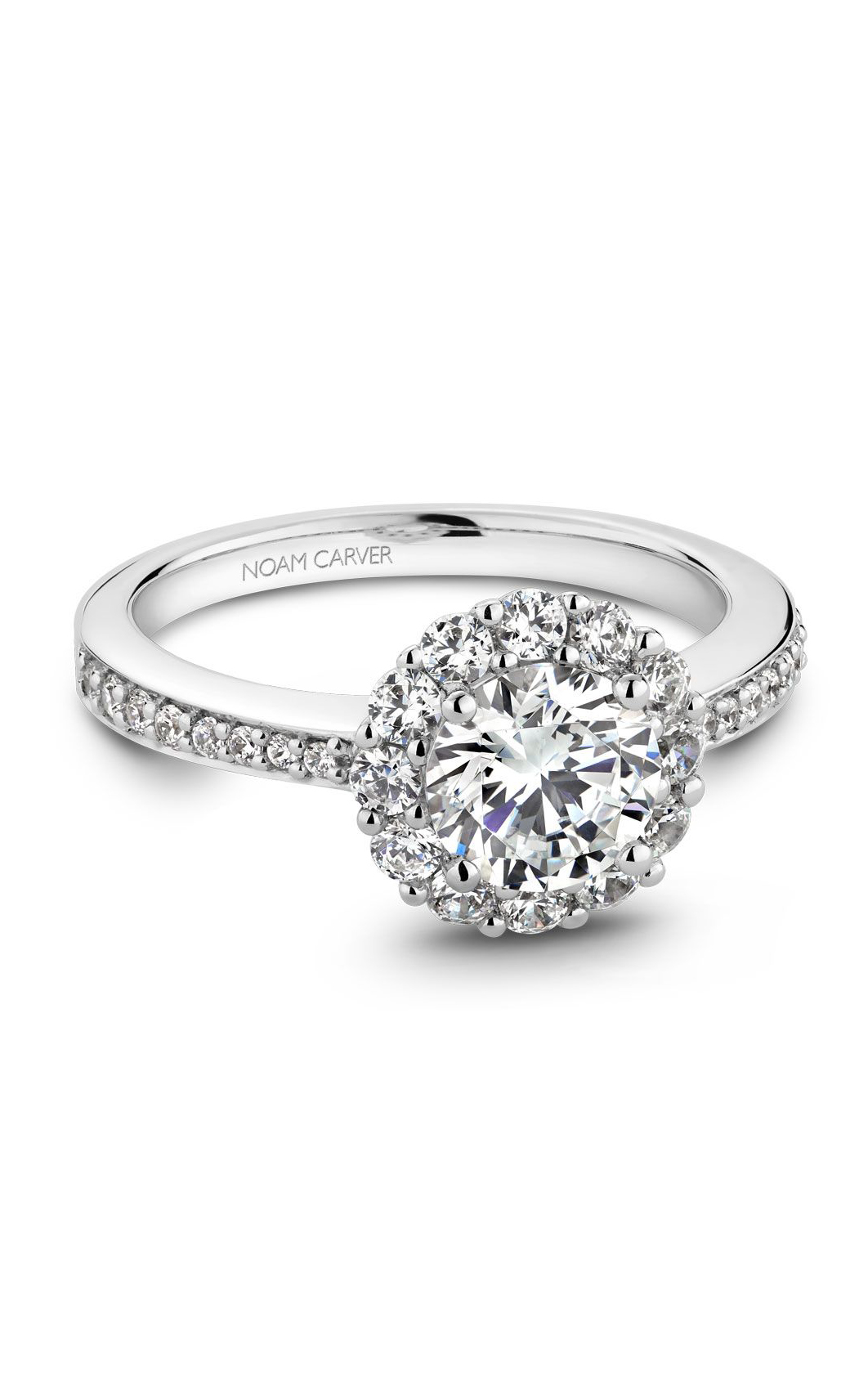 Noam Carver Modern Engagement Ring B100-07A product image