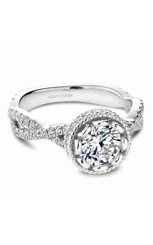Noam Carver Twist Band Engagement Ring R015-01WM product image