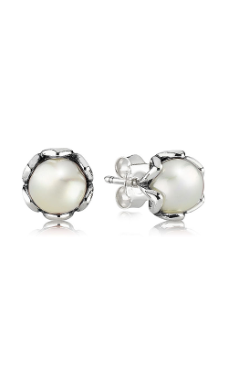 PANDORA Cultured Elegance, White Pearl Earrings 290533P product image