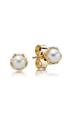 PANDORA Cultured Elegance White Pearl Earrings 250319P product image