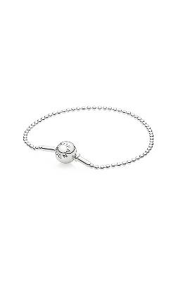PANDORA ESSENCE Beaded Sterling Silver Bracelet 596002-17