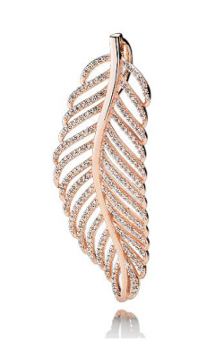 PANDORA Rose™ & CZ, Light As A Feather Pendant 380350CZ product image
