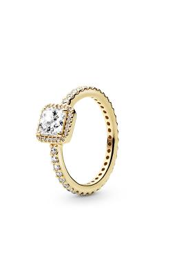 PANDORA Timeless Elegance, 14K Gold & Clear CZ Ring 150188CZ-48 product image