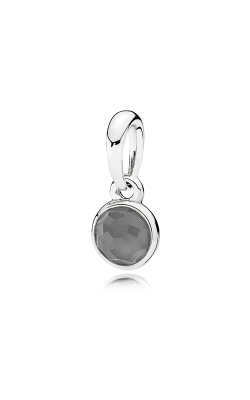 PANDORA June Droplet Grey Moonstone Pendant 390396MSG product image