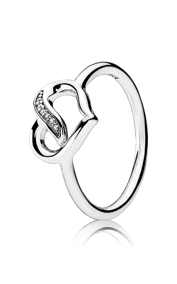 PANDORA Dreams of Love Clear CZ Ring 191022CZ-48