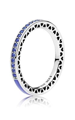 PANDORA Radiant Hearts Princess Blue Enamel & Royal Blue Crystals 191011NCB-48 product image