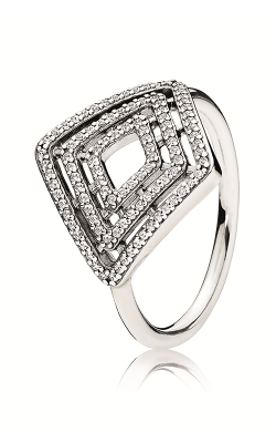 PANDORA Geometric Lines Ring Clear CZ 196210CZ-52 product image