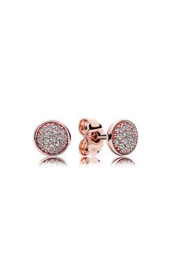 PANDORA Rose™ & Clear CZ, Dazzling Droplets Stud Earrings 280726CZ
