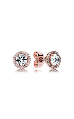 PANDORA Rose™ & Clear CZ, Classic Elegance Stud Earrings 286272CZ