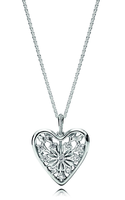 PANDORA Heart of Winter Necklace, Clear CZ 396369CZ-80 product image