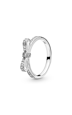 PANDORA Sparkling Bow Ring Clear CZ 190906CZ-60 product image