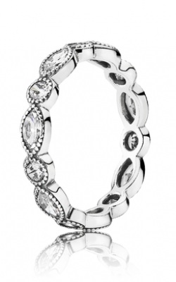 PANDORA Alluring Brilliant Marquise Stackable Ring CZ 190940CZ-54 product image