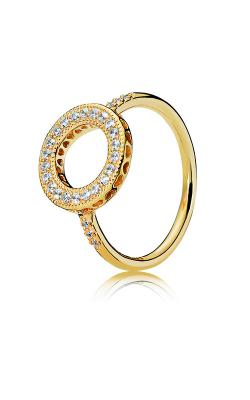 PANDORA Shine™ Hearts Halo Ring 167096CZ-48