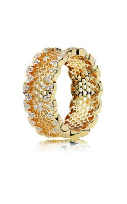 PANDORA Shine™ & Clear CZ Honeycomb Lace Ring 167100CZ-48