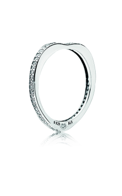 PANDORA Sparkling Arcs Of Love Ring, Clear CZ 197095CZ-48 product image