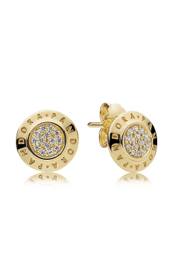 PANDORA Signature Earrings PANDORA Shine™ & Clear CZ 260559CZ