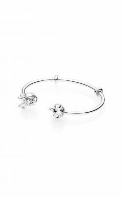 PANDORA Disney Mickey & Minnie Open Bangle Bracelet 597494-1
