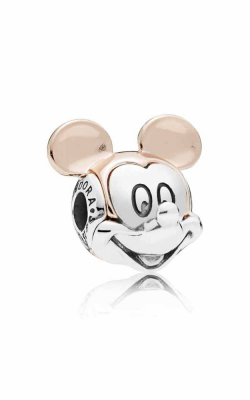 Disney Two-tone Mickey Portrait Charm PANDORA Rose™ 787503