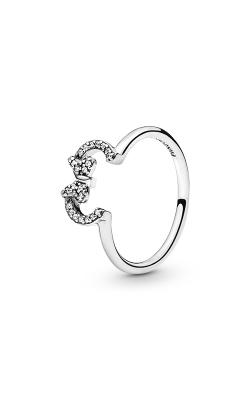 PANDORA Disney Minnie Silhouette Ring Clear CZ 197509CZ-48