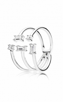 PANDORA Shards of Sparkle Clear CZ Ring 197527CZ-48