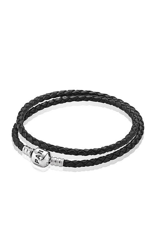 pandora black charm bracelet