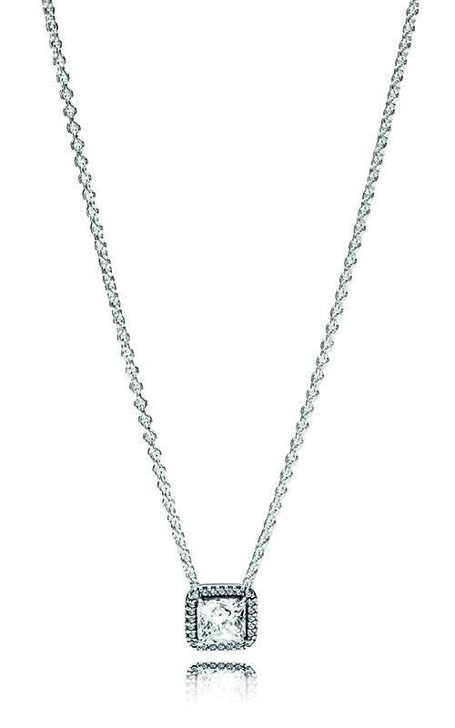 Pandora Women Silver Pendant Necklace - 396241CZ-45 LMAF2UB