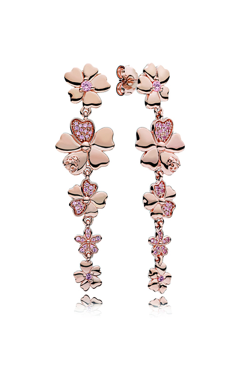 Buy pandora rose blush pink crystals wildflower meadow drop pandora rose blush pink crystals wildflower meadow drop earrings 287114npr product image mightylinksfo