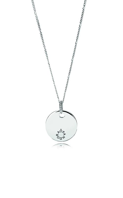 Pandora Women Silver Pendant Necklace - 397122-60 9o3rcMjy