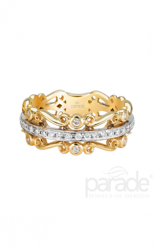 Parade Charites Wedding band BD2484A-YW product image