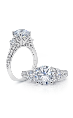 Peter Storm Three Stone Engagement Ring WS152WD product image