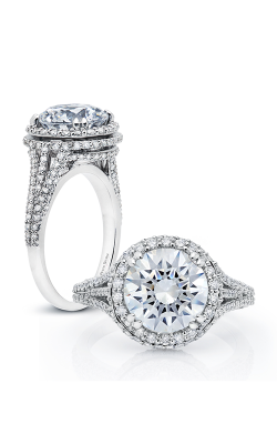 Peter Storm Halo Engagement Ring WS171WD product image