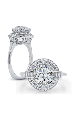 Peter Storm Halo Engagement Ring WS181WD product image