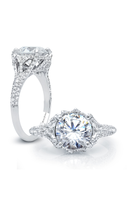 Peter Storm Halo Engagement Ring WS186WD product image