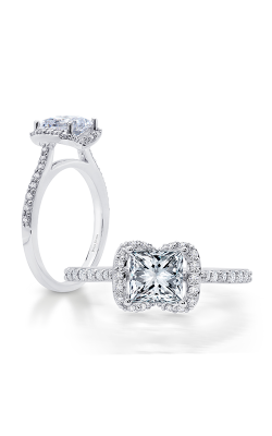 Peter Storm Halo Engagement Ring WS293WD product image